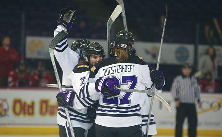 Women's hockey seeks consistency