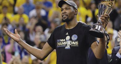 Warriors defeat Cavs 4-1 in NBA Finals