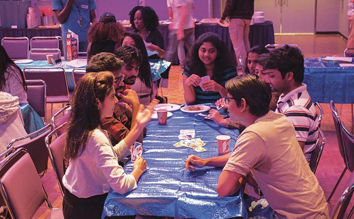Students hit it off at successful International Mingle Night